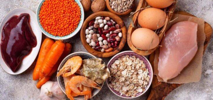Цинк в продуктах питания